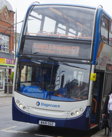 57 bus timetable from 27th October