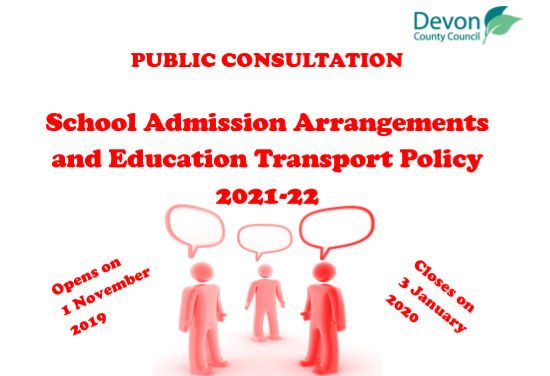 Public Consultation – Schools and Education Transport Policy