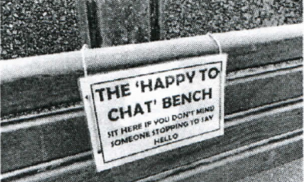 """Happy to Chat"" benches for Lympstone"