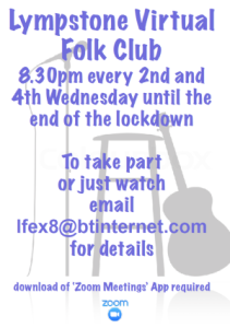 Lympstone Virtual Folk Club a great success