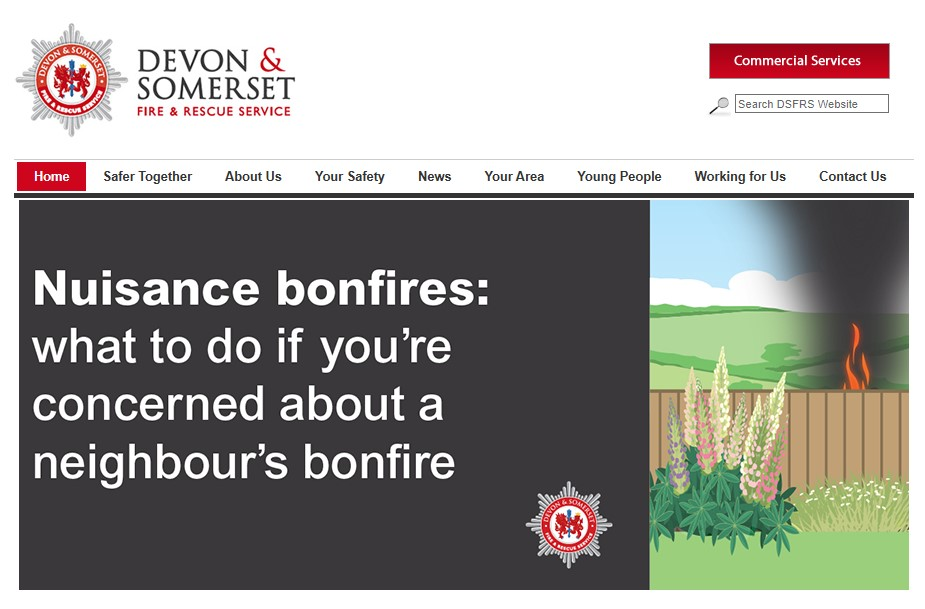 Bonfires – Don't be a nuisance!