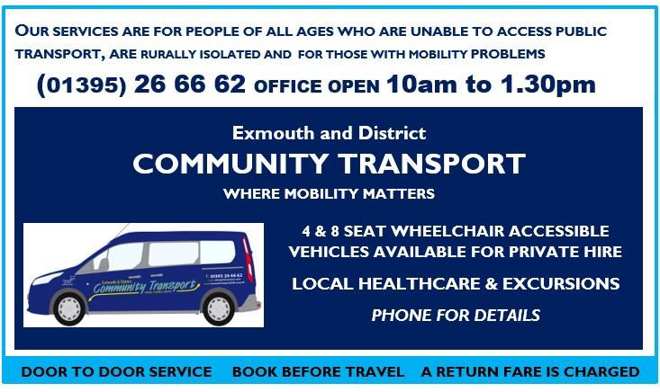 Community Transport Update