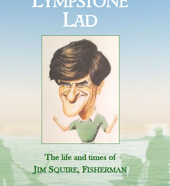 Jim Squire, Fisherman. A book launch on the slipway