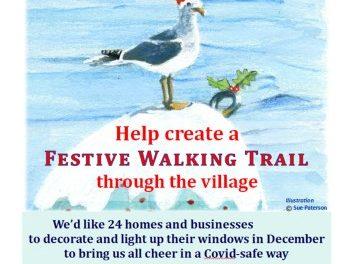 Help create a Lympstone Living Advent Calendar