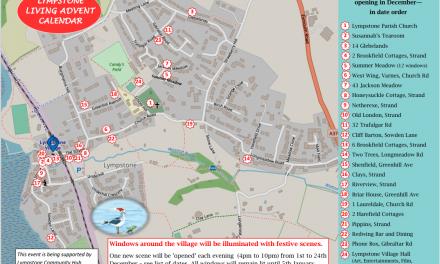 Lympstone Living Advent Calendar Trail