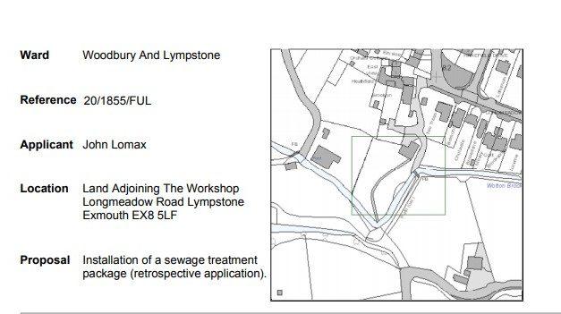 EDDC Planning – Virtual Meeting 2 Applications in Lympstone