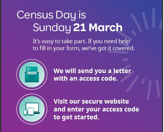 Census Day is 21st March – Information