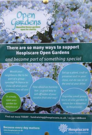 Hospiscare Open Gardens in 2021
