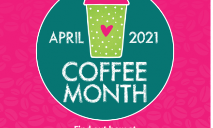 Hospiscare Coffee Month in April
