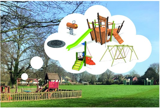 Fundraising for Candy's Field Play Area