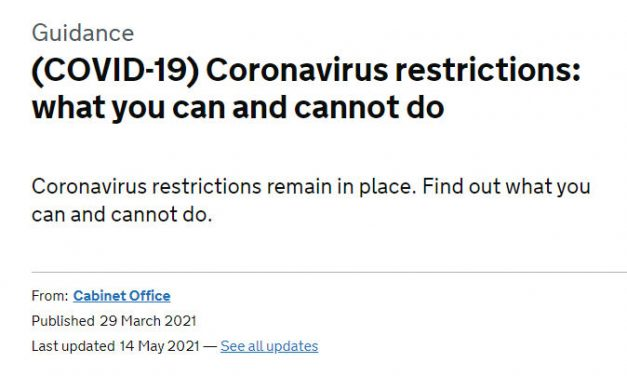 Coronavirus restrictions: what you can and cannot do